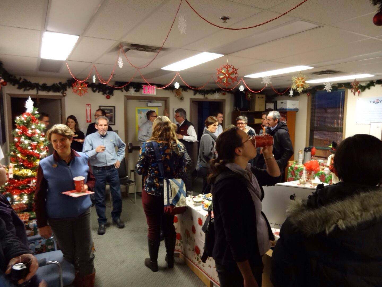 TIA Yukon, Yukon Convention Bureau and Nakai Theatre celebrate with Whitehorse folks