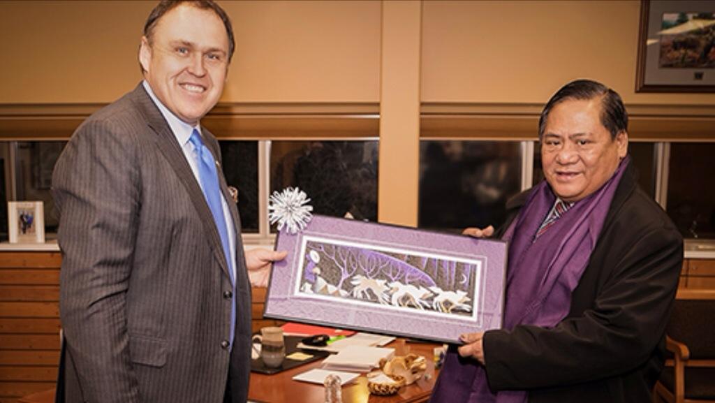 Ambassador of the Philippines visits Yukon