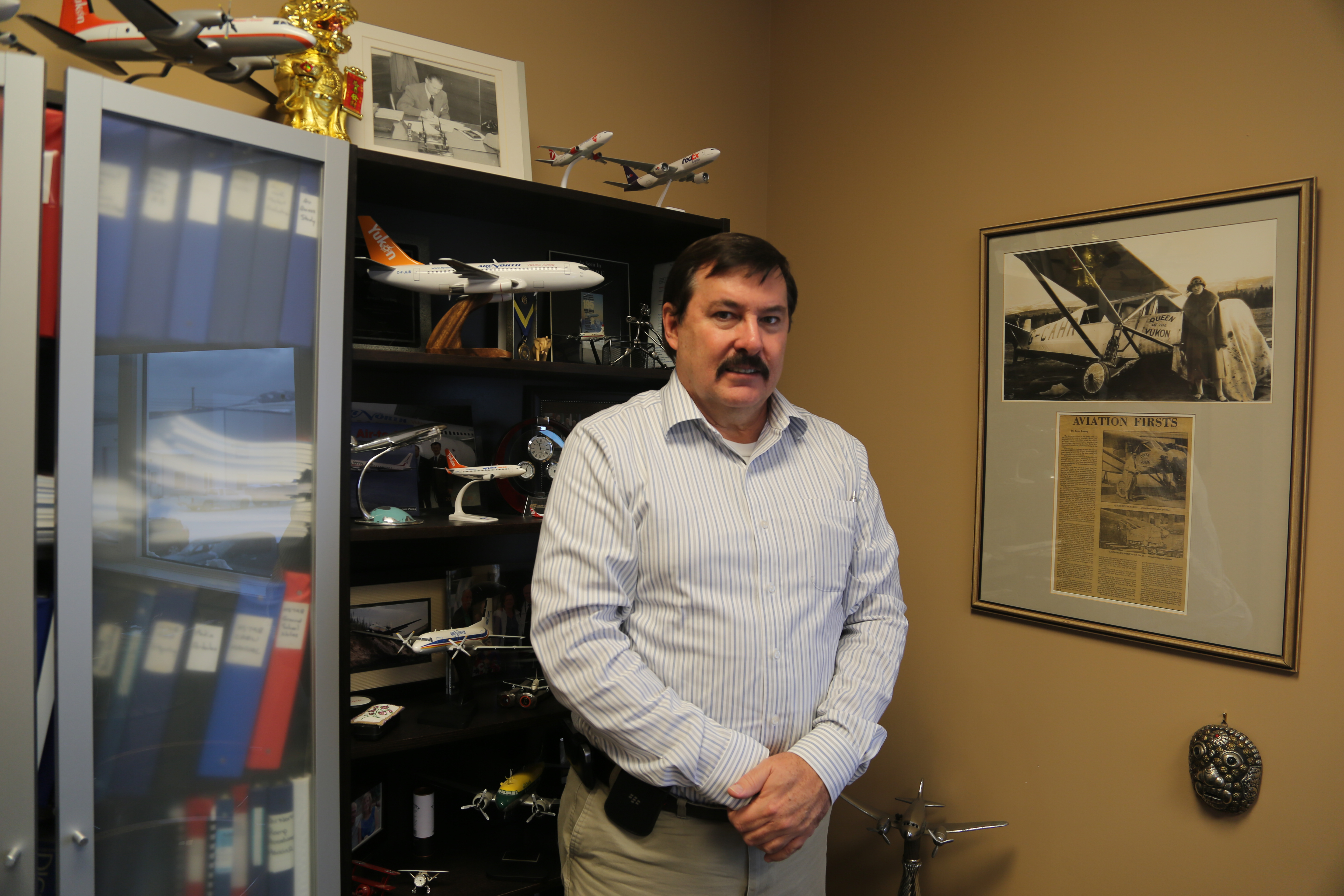 Allan Moore, Director of Commercial Development for Air North | Photo: Gurdeep Pandher