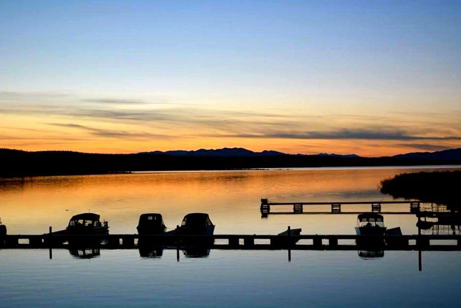Sunset at Tagish, Yukon, Canada. Photo submitted by: Kit Logan Wells