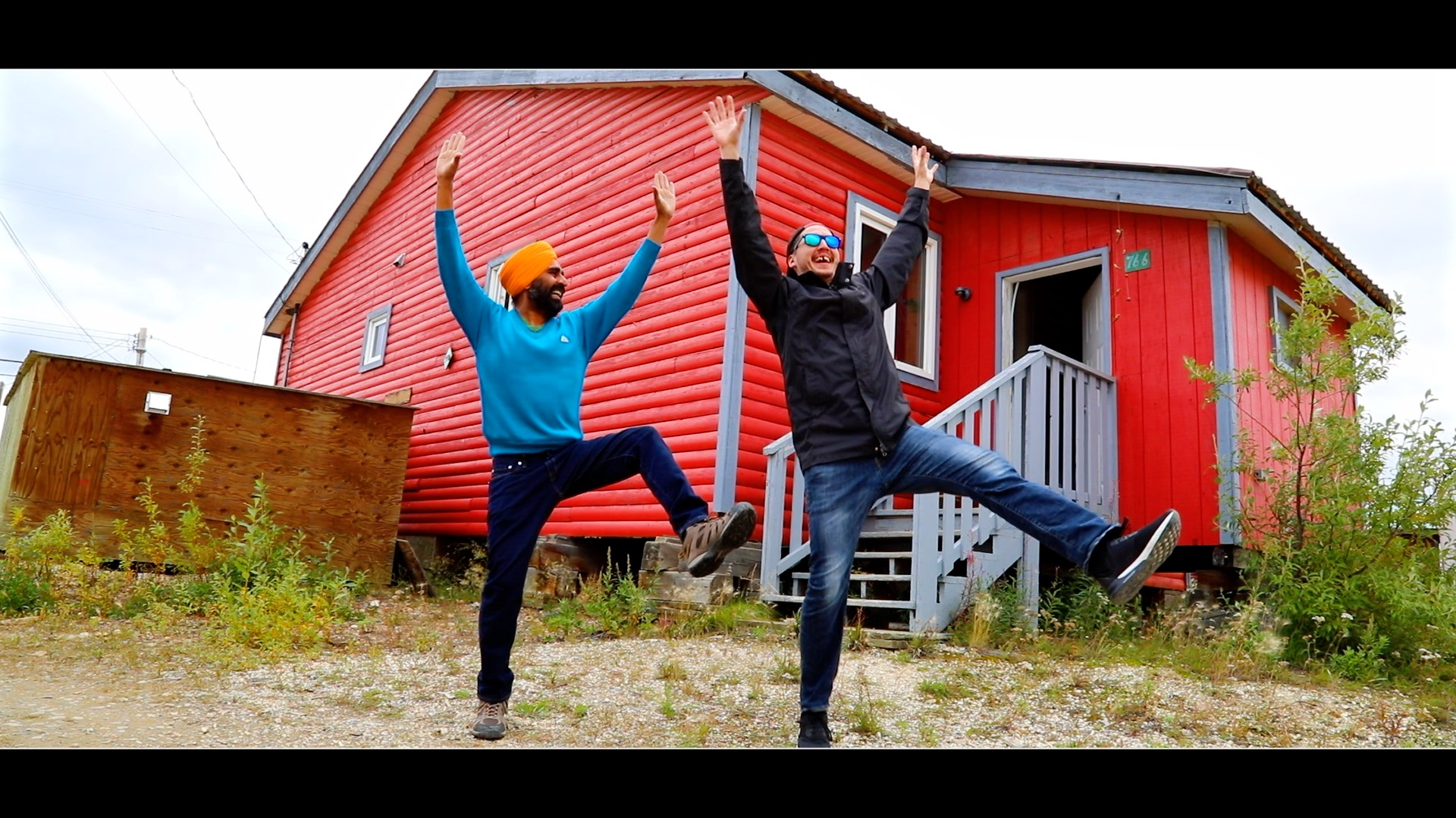 Bhangra in Old Crow (Yukon) by Chief Dana Tizya-Tramm and Gurdeep Pandher